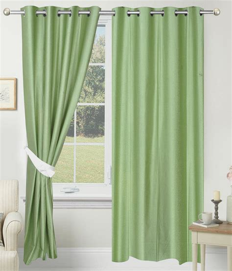 solid green curtains azaani single door eyelet curtains solid green questions