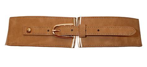 Elastic Belt Beige plus size gold buckle elastic fashion belt beige evogues