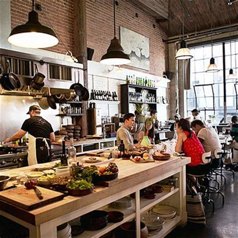 kitchen restaurant design the 25 best open kitchen restaurant ideas on