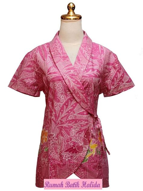 Yuri Kimono Maroon Atasan 50 best batikkkk images on batik dress batik fashion and blouse