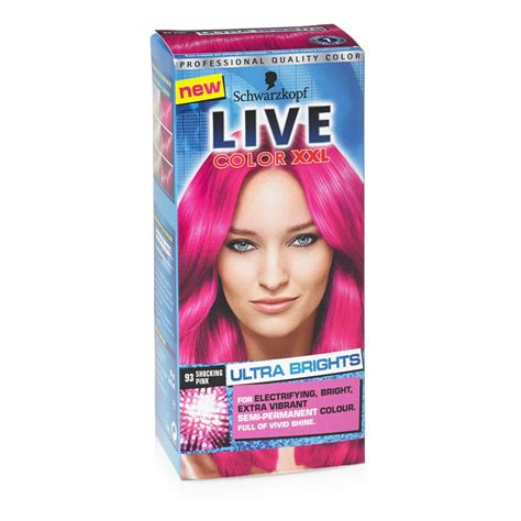 Schwarzkopf Live Hair Color schwarzkopf live like a vip