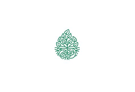 pattern in logo 20 creative plant logos for inspiration