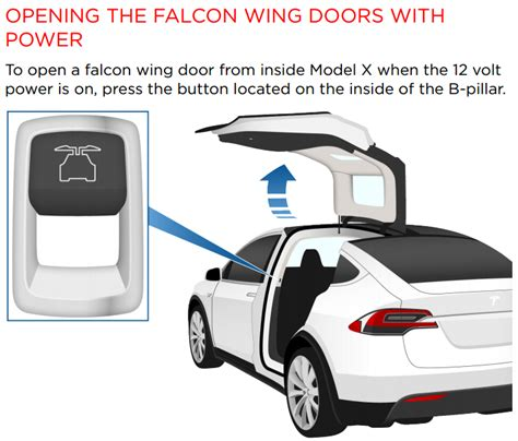 How Do You Open A Tesla Door 2016 Tesla Model X Falcon Wing Doors Absolute Rescue