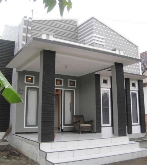 desain pagar rumah unik teras rumah minimalis type 45 desain tipe rumah