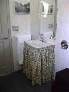 bathroom sink skirts sink skirt sew awesome