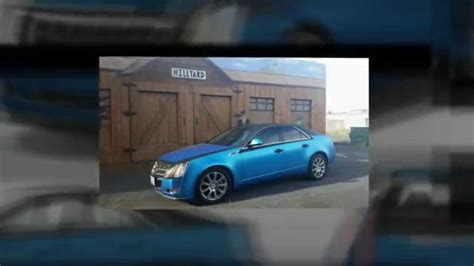 Cadillac Cts Change by 2008 Cadillac Cts Color Change Vinyl Wrap