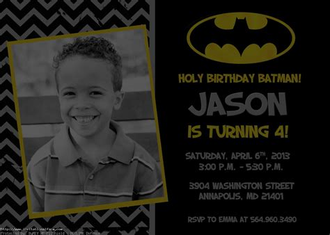 printable birthday invitations batman batman invitations card templates ideas free invitations