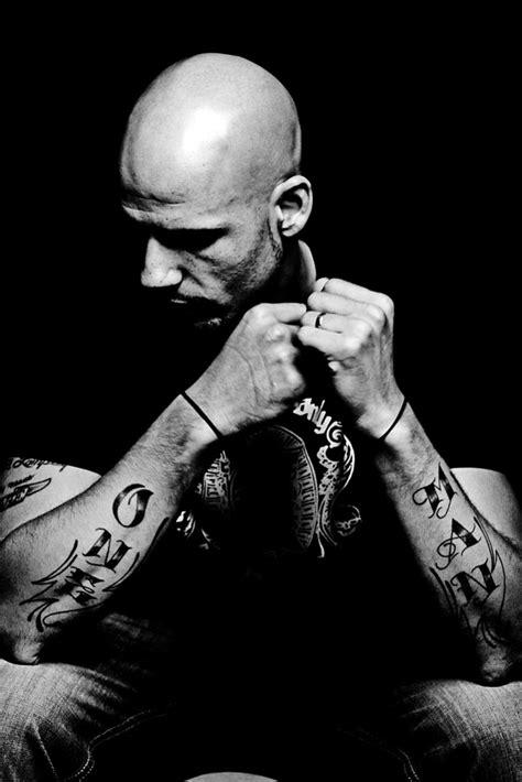 barcode tattoo poem foo dog tattoo on men arms