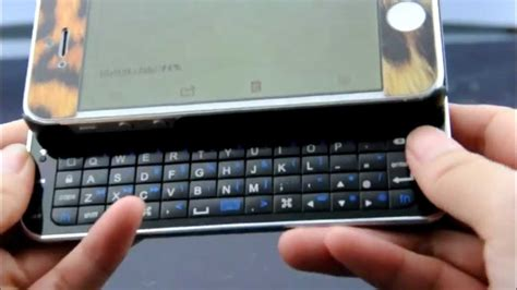 Apple Qwerty kiboard slide out qwerty keyboard for apple iphone 5