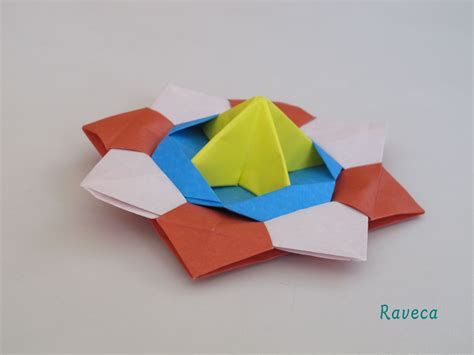 How To Make Origami Top - origami spinning top titirez ra
