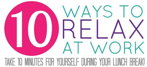 10 Best Ways To Relax by Sponsored Archives Happy Go Lucky