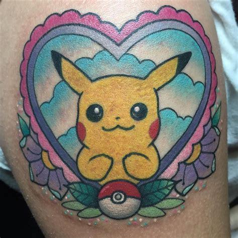 pikachu tattoo pikachu www pixshark images