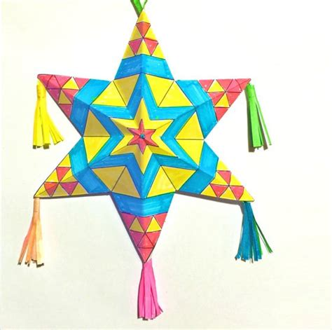 Mexican Paper Crafts - mexican paper ornaments tutorial printable craft