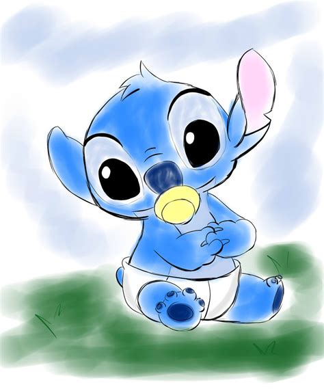 stitches baby diseny favourites by brookellyn on deviantart