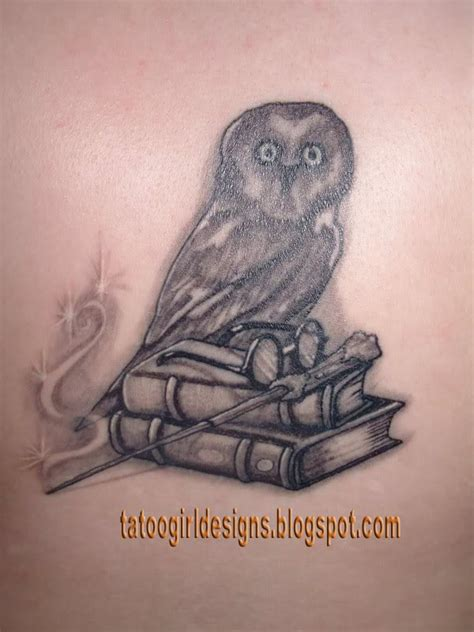 harry potter owl tattoo owl pictures designs s