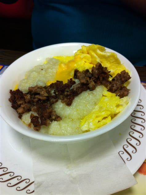 waffle house tallahassee sausage egg cheese grit bowl yelp
