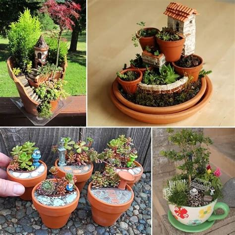16 Creative Miniature Garden Ideas You Will Admire Miniature Gardens Ideas
