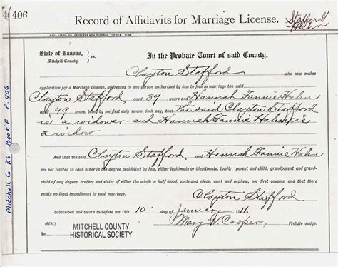 Clayton County Marriage Records Clayton Alonzo Stafford