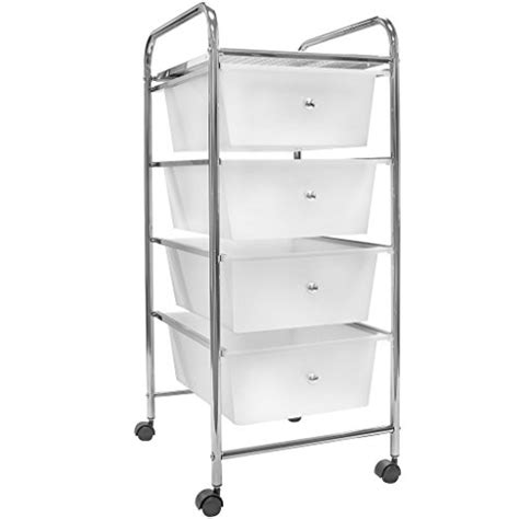 4 drawer cart with wheels coloured plastic storage drawers new sterilite 4 drawer