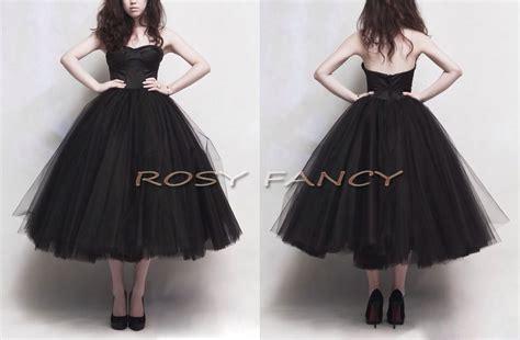 Tutu Gotik Prewalker Size 0 12bln rosyfancy retro black multi layer skirt tea length prom dress in prom dresses from