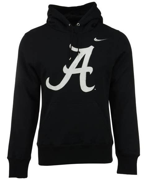 Jaket Sweater Hoodie Nike Black nike s alabama crimson tide project fresh painted hoodie in black for lyst