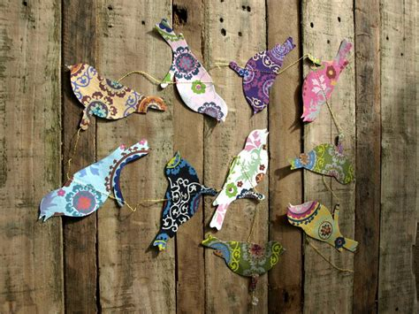 handmade paper butterfly garland by seagirl and magpie