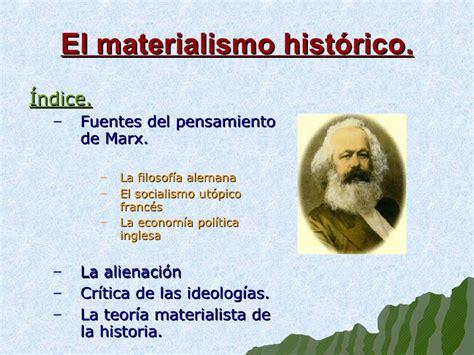 imagenes materialismo historico carlos marx
