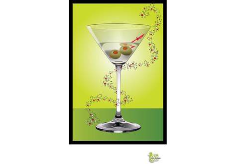 martini vector martini cocktail download free vector art stock