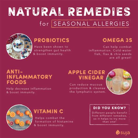 remedies for allergies remedies for seasonal allergies suja juice