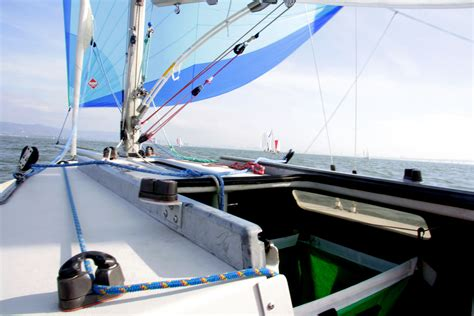 small boat jib furler buying guide to roller furling systems for your sailboat