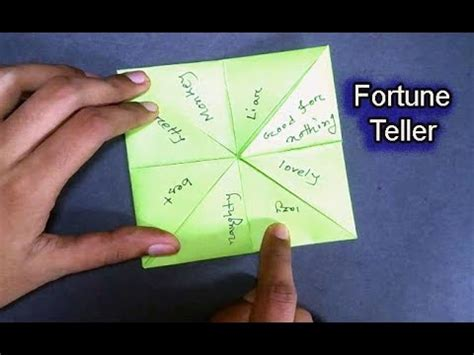 making origami games how to make paper finger game easy origami fortune