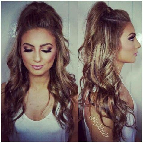 ariana grande half updo 17 best images about peinados para intentar on