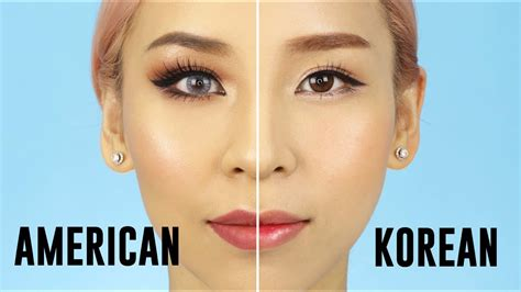 Eyeshadow Korea american vs korean style makeup 2017