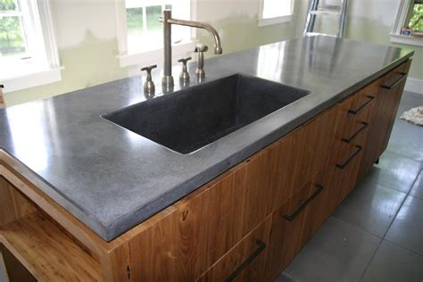 How To Install A Kitchen Island alpha stone concrete 413 475 3827 home