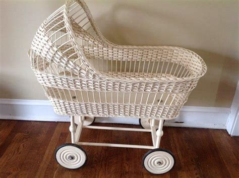Vintage Wicker Crib by Vintage 1950 Wicker Bassinet From Krrb Local Classifieds