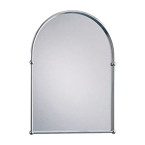 arched bathroom mirrors arched mirror chrome buy online at bathroom city
