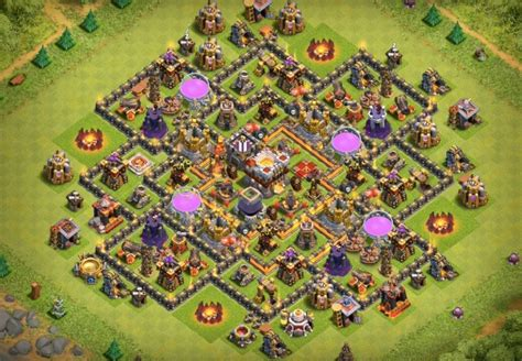 defensive war base for th10 6 th10 war base aur farming base layouts 2017