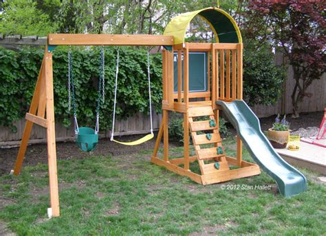 small space swing set http www backyardplaystations com uploads 4 2 4 7