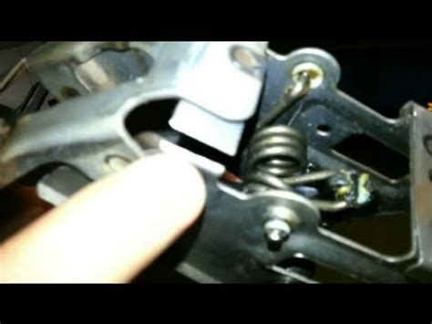 broken clutch pedal repair | turbo spec v youtube