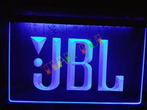 Neon Sign Home Decor Aliexpress Buy Lg075 Jbl Audio Car Display Bar Led Neon Light Sign Home Decor Shop Crafts