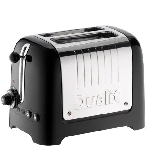Dualit Lite Toaster Dualit 26205 2 Slot Lite Toaster Black Homeware Thehut