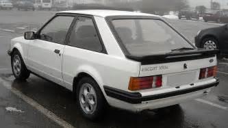 Ford Escorts Ford Xr3i Rs1600i 1981 1993