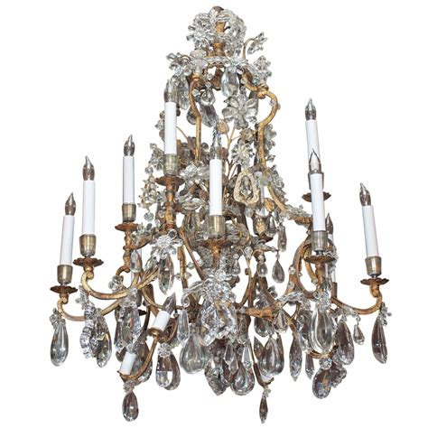 antique rock chandelier antique 19th century iron and rock chandelier at