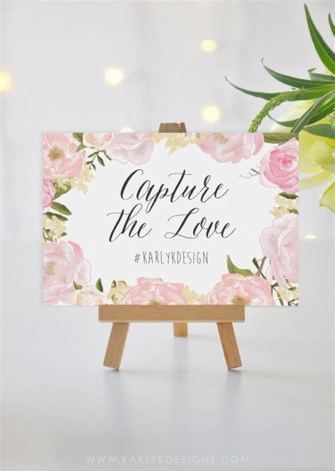 wedding sign templates printable wedding sign template instagram sign rustic