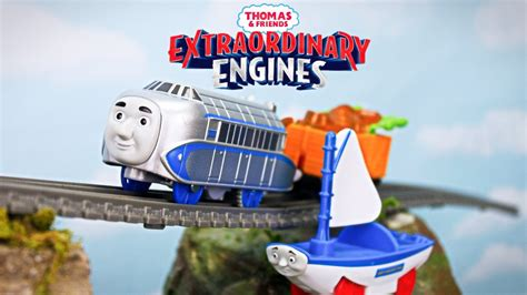 skiff engine extraordinary engines thomas and friends trackmaster hugo