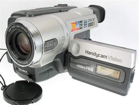 cassette videocamera sony handycam vision ccd trv108 ntsc hi8 8mm cassette