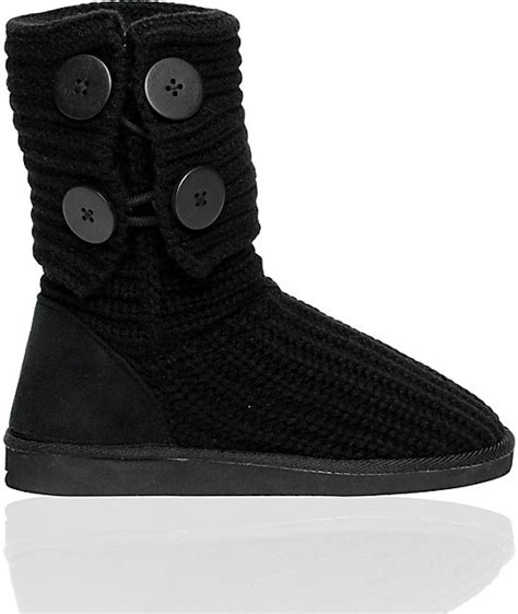 miss me cupcake black sweater boot