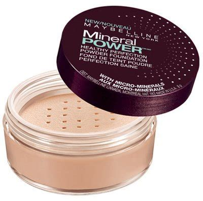 Bedak Maybelline Mineral Power maybelline mineral power powder foundation reviews