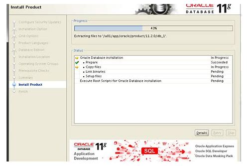 herunterladen oracle asm 11g installation linux