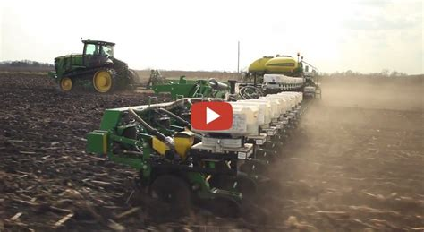 corn planting in central iowa db120 48 row planter john